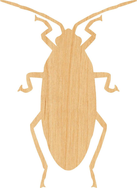 Cockroach 2 Wooden Laser Cut Out Shape - Great for Crafting - Hobbyist - D.I.Y. Projects
