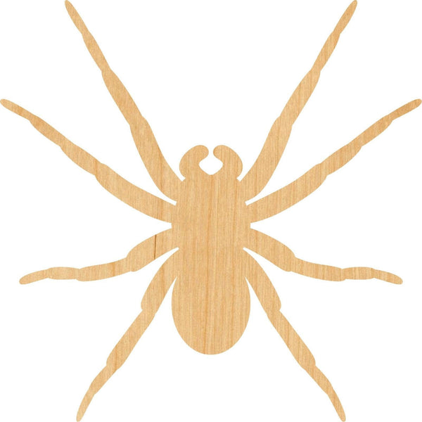Spider 1 Wooden Laser Cut Out Shape - Great for Crafting - Hobbyist - D.I.Y. Projects