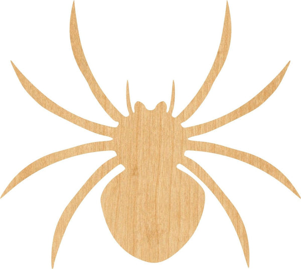 Spider 5 Wooden Laser Cut Out Shape - Great for Crafting - Hobbyist - D.I.Y. Projects