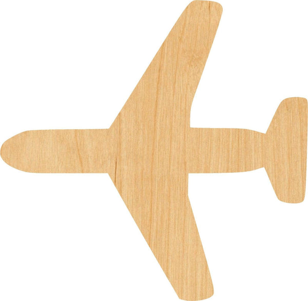 Jet 1 Wooden Laser Cut Out Shape - Great for Crafting - Hobbyist - D.I.Y. Projects