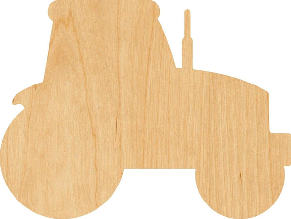 Tractor 1 Wooden Laser Cut Out Shape - Great for Crafting - Hobbyist - D.I.Y. Projects