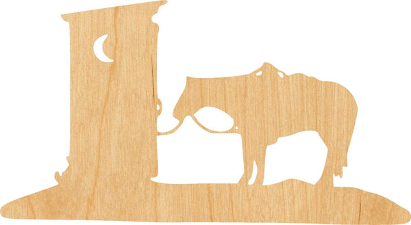 Outhouse Wooden Laser Cut Out Shape - Great for Crafting - Hobbyist - D.I.Y. Projects