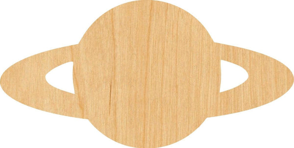 Saturn Wooden Laser Cut Out Shape - Great for Crafting - Hobbyist - D.I.Y. Projects