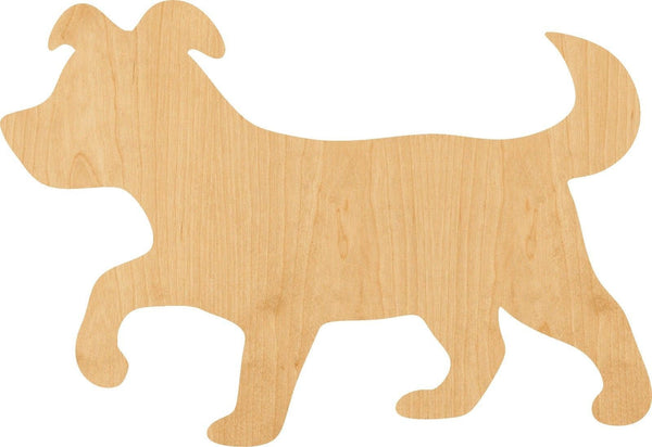 Puppy 2 Wooden Laser Cut Out Shape - Great for Crafting - Hobbyist - D.I.Y. Projects