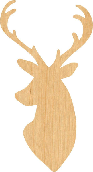 Buck Wooden Laser Cut Out Shape - Great for Crafting - Hobbyist - D.I.Y. Projects