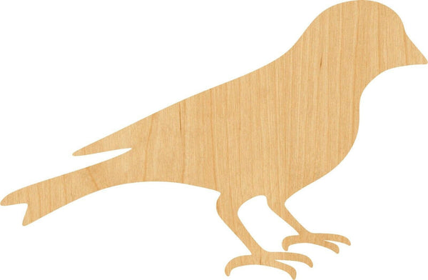 Goldfinch Wooden Laser Cut Out Shape - Great for Crafting - Hobbyist - D.I.Y. Projects