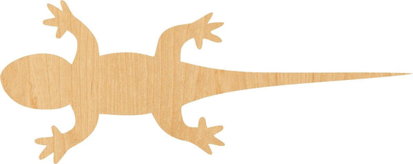 Lizard Wooden Laser Cut Out Shape - Great for Crafting - Hobbyist - D.I.Y. Projects
