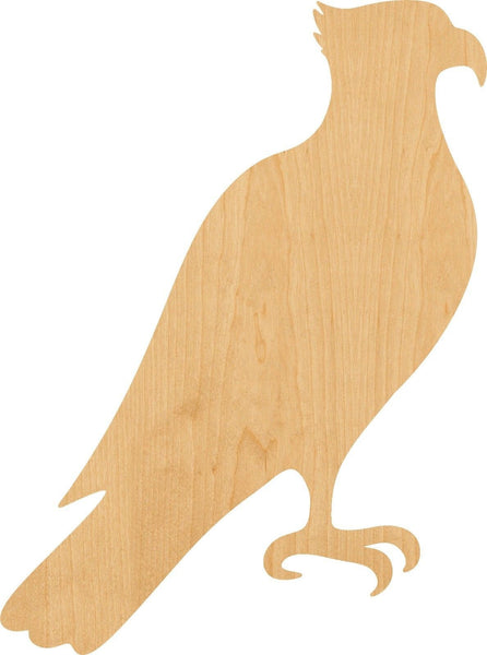 Osprey Wooden Laser Cut Out Shape - Great for Crafting - Hobbyist - D.I.Y. Projects