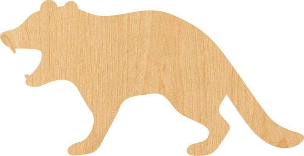Tasmanian Devil Wooden Laser Cut Out Shape - Great for Crafting - Hobbyist - D.I.Y. Projects