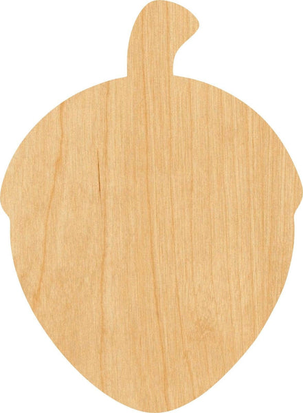 Acorn 1 Wooden Laser Cut Out Shape - Great for Crafting - Hobbyist - D.I.Y. Projects