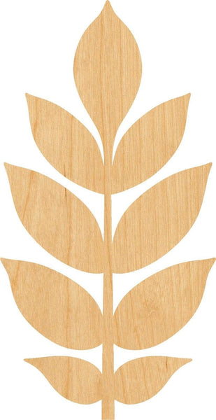 Ash Leaf Wooden Laser Cut Out Shape - Great for Crafting - Hobbyist - D.I.Y. Projects