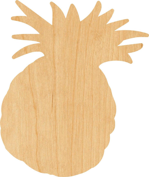 Pineapple 2 Wooden Laser Cut Out Shape - Great for Crafting - Hobbyist - D.I.Y. Projects