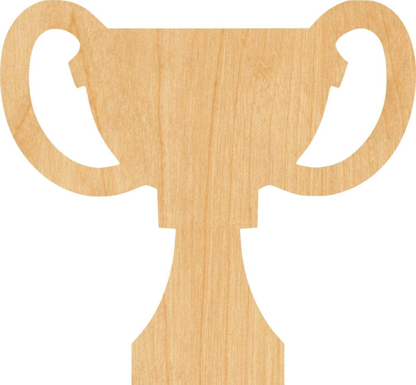 Trophy Wooden Laser Cut Out Shape - Great for Crafting - Hobbyist - D.I.Y. Projects