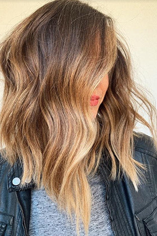Balayage highlights example