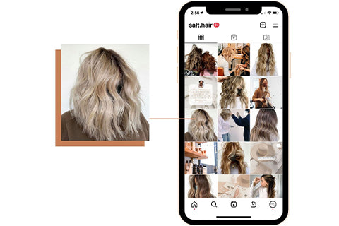 Instagram tips for hair stylists balayage