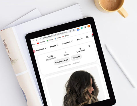 Pinterest for stylists business profile