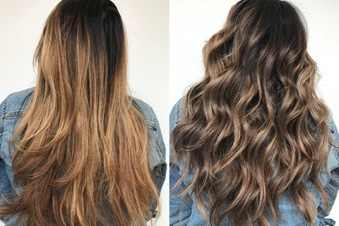 Working with coarse hair type