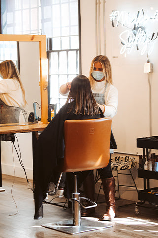 Salon referral program