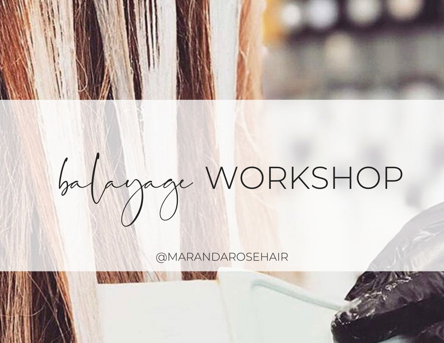 Balayage Workshop (May)