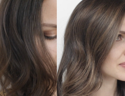 Beat the BLORANGE in Brunette Balayage