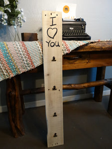 """I heart You"" wood sign - Old Soul AZ"