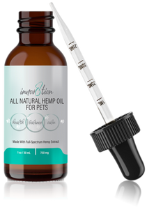 Full-Spectrum Hemp Oil for Large Pets 750 mg 1 oz / 30 mL