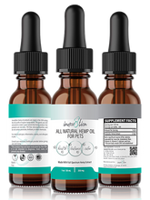 Full-Spectrum Hemp Oil for Pets 250 mg 1 oz / 30 mL