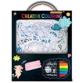 Piggy Story Creative Coloring: Carry All Pouch Markers Set