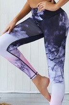 Yoga Pant & Top Set Purple