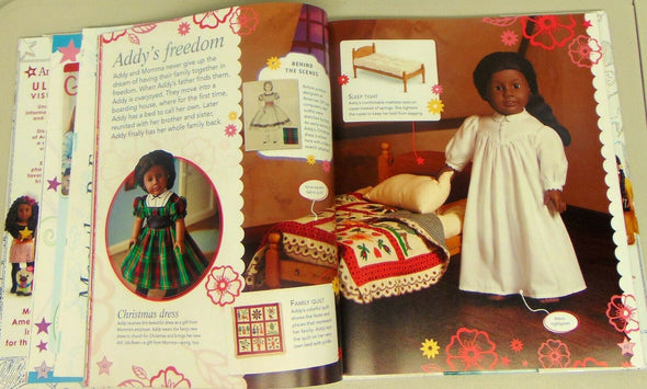 DK American Girl Ultimate Visual Guide Hardback Book with Jacket / Poster