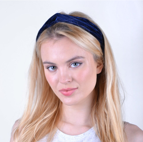 Nollia Solid Ribbed Headband