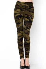 Camoflage Leggings
