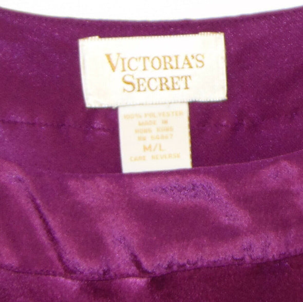2 Vintage Victorias Secret Nightshirt Pajamas Size M/L Gold Label Nightgown