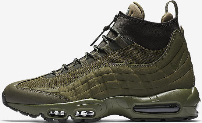 5f143b61ef Nike Air Max 95 SneakerBoot size 15. Medium Olive Green. 806809-202.