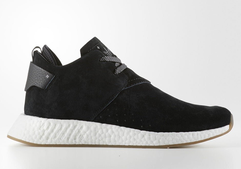 Adidas NMD C2 Core Black Gum Suede. Size 14. BY3011. – Sneakerbrokers d98397579ced