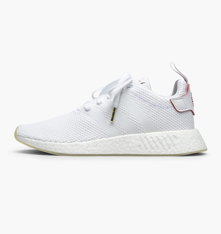 Adidas Nmd R2 Cny Size 10 5 White Red Gum Chinese New Year Db2570