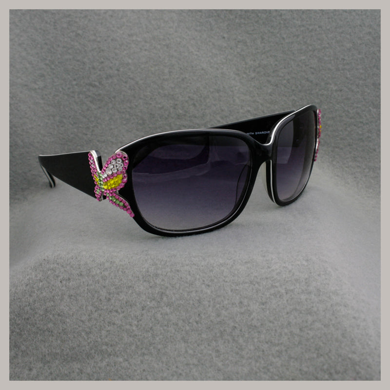 Butterfly Jimmy Crystal Sunglasses