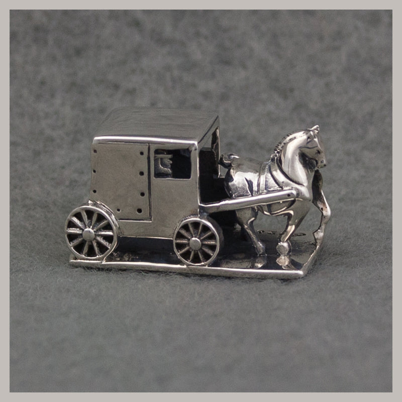 Exclusive Amish Horse and Buggy Bead