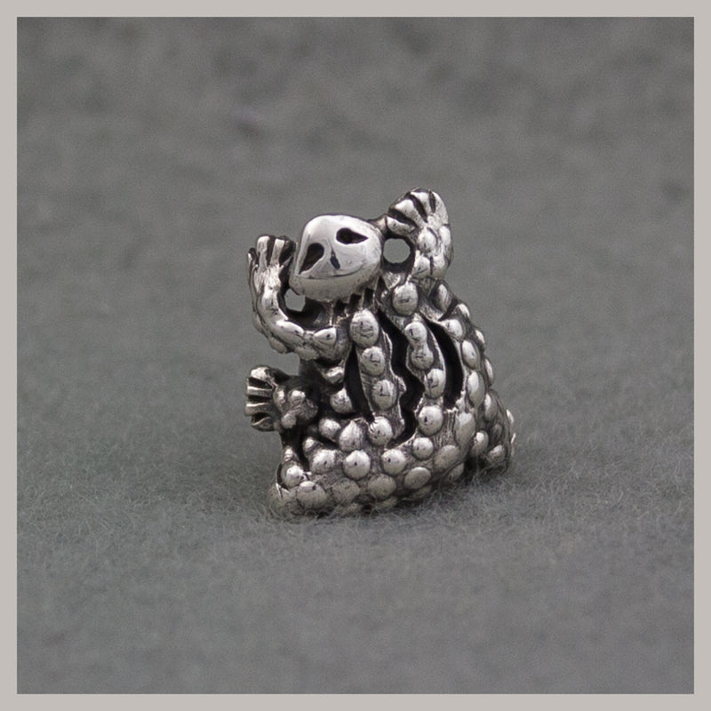 "Exclusive ""Gem Garden"" Horned Toad Bead"