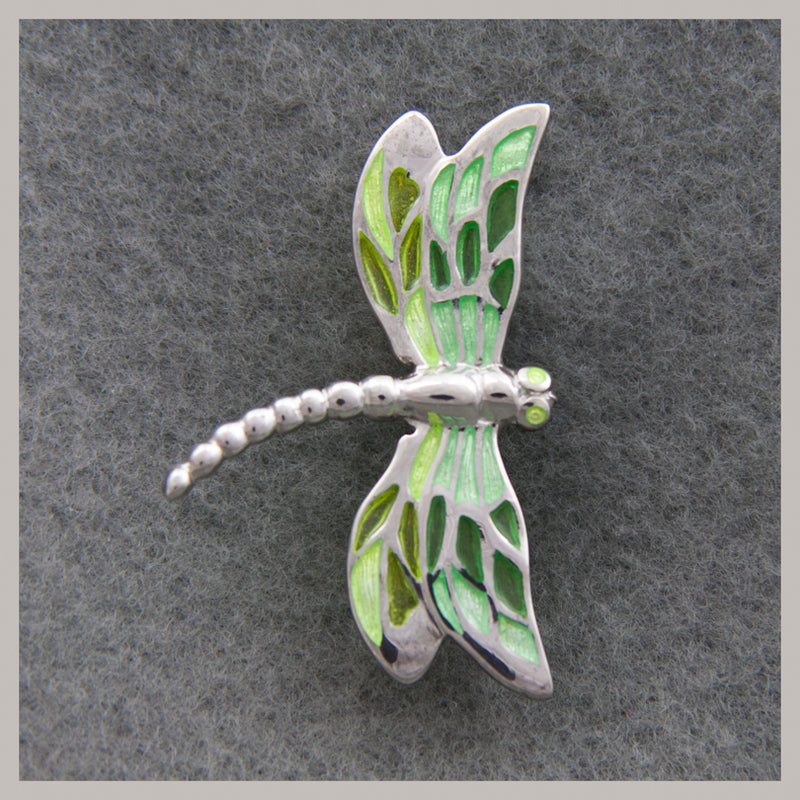 Green Dragonfly Ring