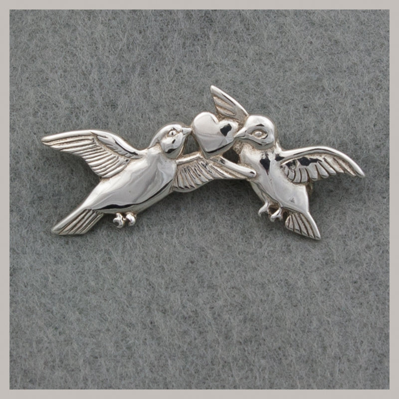 Love Birds Pin