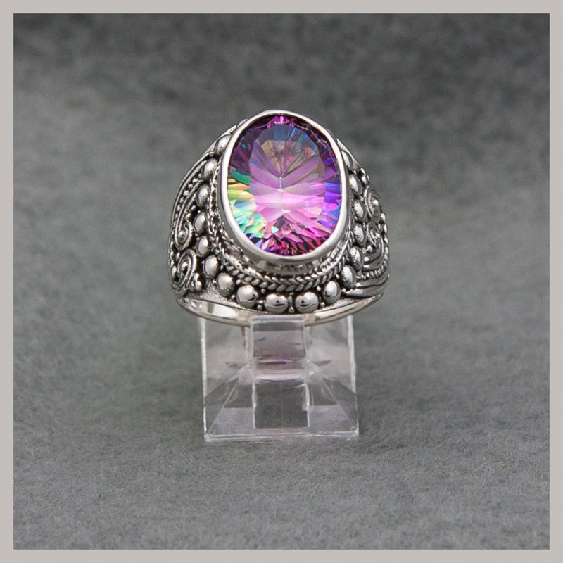 Mystic Quartz Ring