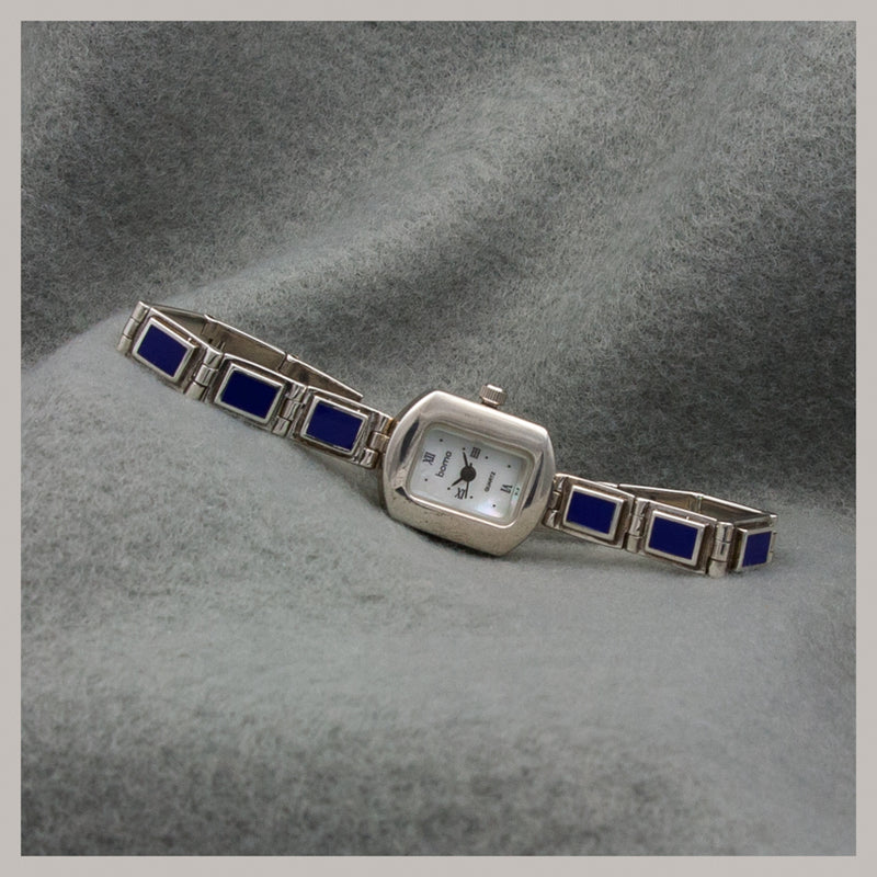 Lapis Inlay Watch