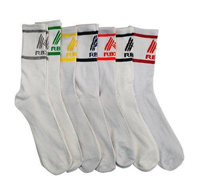7 Pairs Mens High Performance Athletic Running Crew Socks