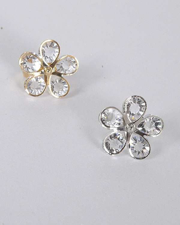 Adjustable Ring with 3D Floral Pattern id.31464
