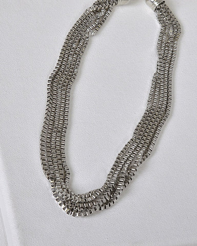 Multi Stand Box Chain Necklace id.31476