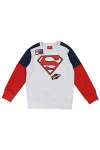 Boys superman 4-7 sweatshirt
