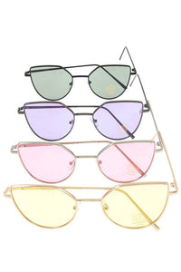 Color lens sunglasses pack