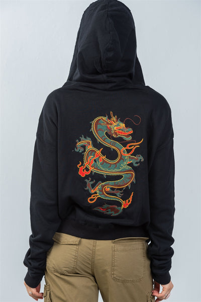 Ladies fashion baby lite me up dragon slayer hoodie