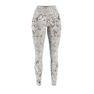 Women's White Rush Hand Sewn Leggings